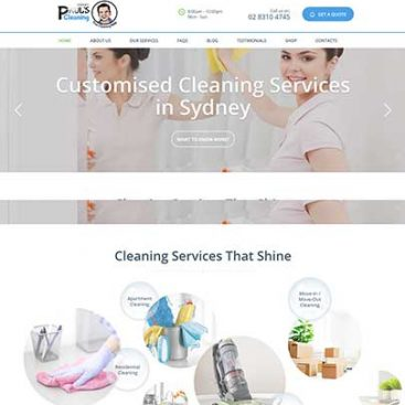 Cleaning Website Designed & Developed By Herald Lynx Lahore Pakistan
