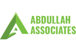 Abdullah Associates Logo Designed & Developed By Herald Lynx Lahore Pakistan