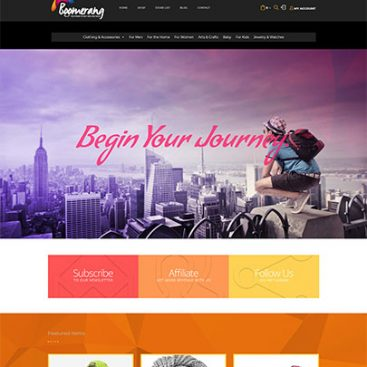 Boomrang Website Designed & Developed By Herald Lynx Lahore Pakistan
