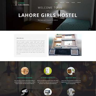 Lahore Girls Hostel Designed & Developed By Herald Lynx Lahore Pakistan