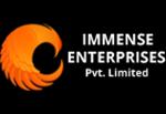 Immense Enterprises Logo Designed & Developed By Herald Lynx Lahore Pakistan