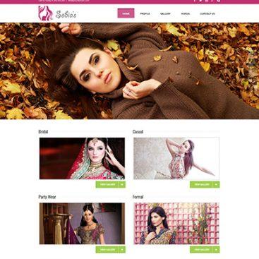 Sobi's Salon Designed & Developed By Herald Lynx Lahore Pakistan